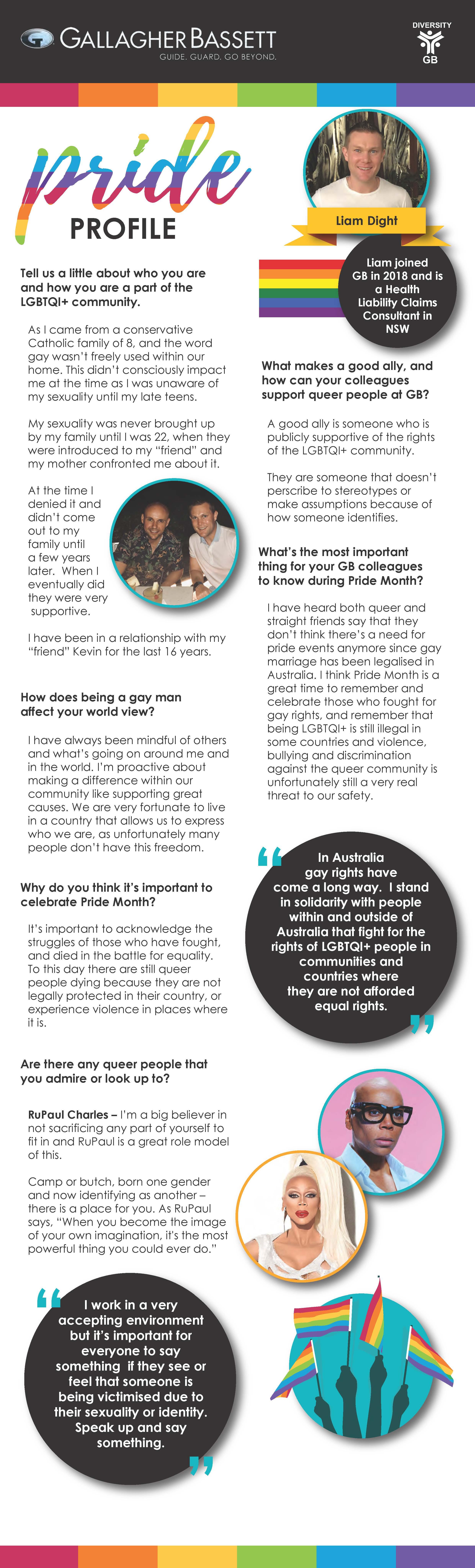 Pride Profile - Liam Dight blog